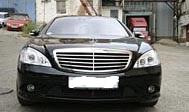 Mercedes-Benz S221 Long черный